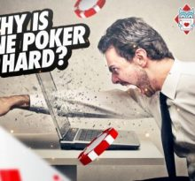 Why is online poker so hard?